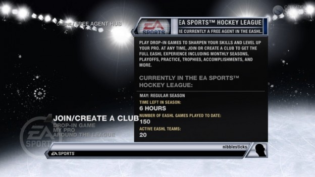 NHL 11 Screenshot #103 for Xbox 360