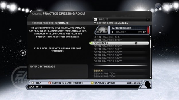 NHL 11 Screenshot #105 for Xbox 360