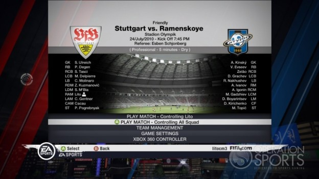 FIFA Soccer 11 Screenshot #50 for Xbox 360