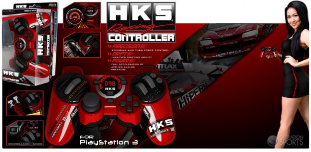 HKS Racing Controller Screenshot #1 for PS3