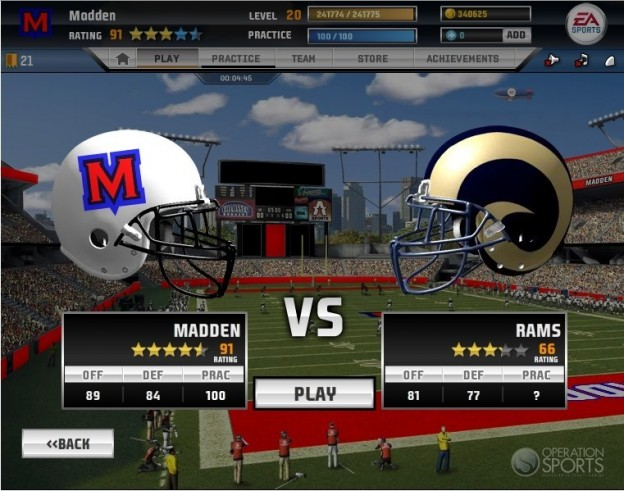 Madden NFL Superstars Screenshot #5 for PC