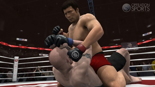 EA Sports MMA Screenshot #89 for Xbox 360