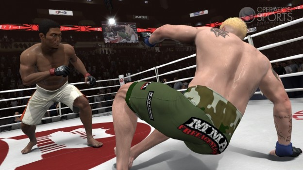 EA Sports MMA Screenshot #93 for Xbox 360