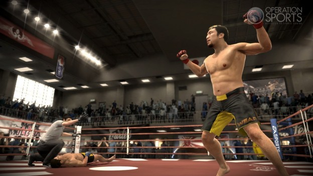 EA Sports MMA Screenshot #96 for Xbox 360