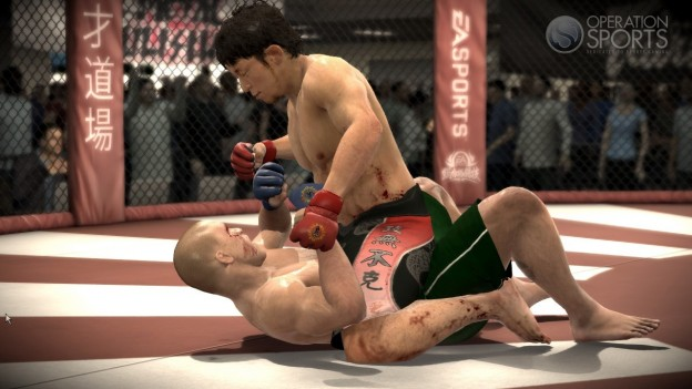 EA Sports MMA Screenshot #102 for Xbox 360
