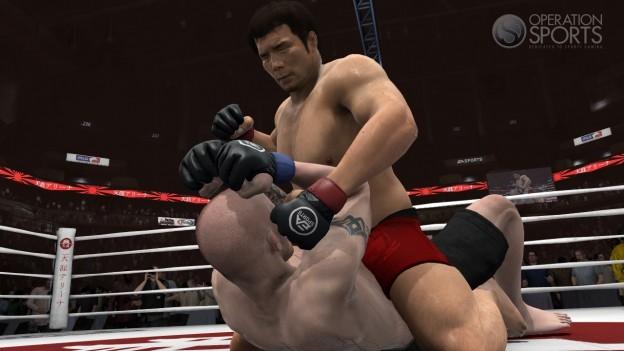 EA Sports MMA Screenshot #38 for PS3