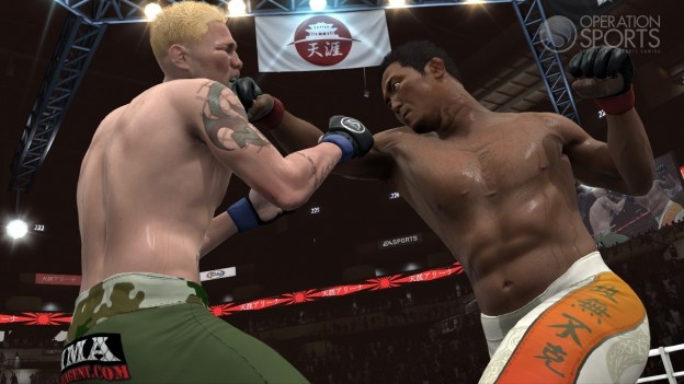 EA Sports MMA Screenshot #44 for PS3