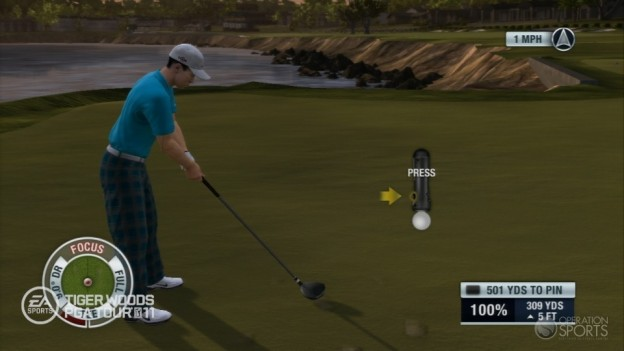 Tiger Woods PGA TOUR 11 Screenshot #6 for PS3