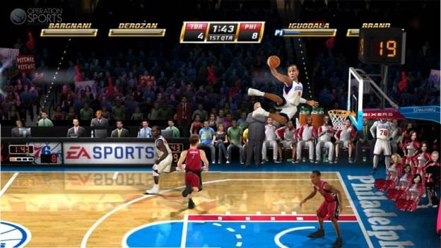 EA Sports NBA JAM Screenshot #2 for Xbox 360