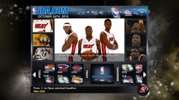 NBA 2K11 Screenshot #99 for Xbox 360