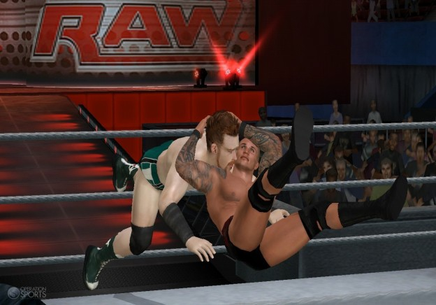 WWE Smackdown vs. Raw 2011 Screenshot #3 for Wii