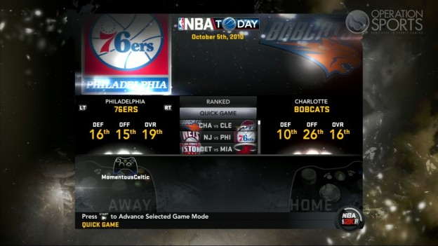 NBA 2K11 Screenshot #101 for Xbox 360