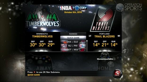 NBA 2K11 Screenshot #102 for Xbox 360