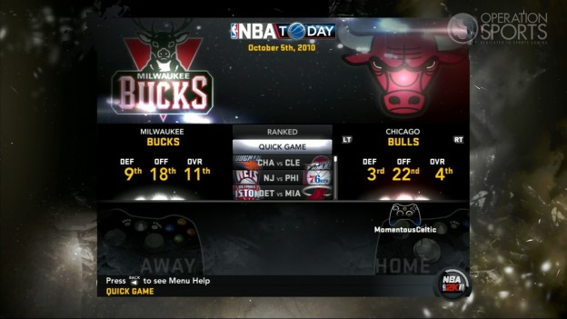 NBA 2K11 Screenshot #103 for Xbox 360