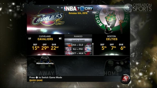 NBA 2K11 Screenshot #104 for Xbox 360