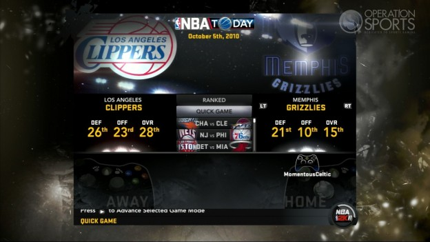 NBA 2K11 Screenshot #105 for Xbox 360