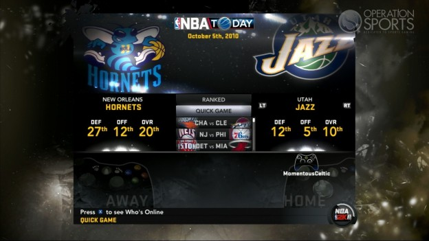 NBA 2K11 Screenshot #107 for Xbox 360