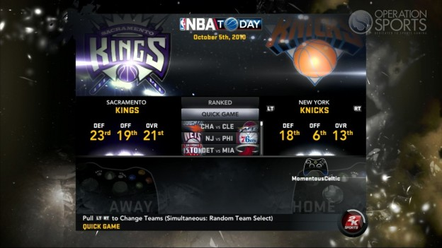 NBA 2K11 Screenshot #108 for Xbox 360