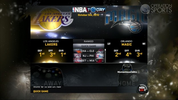 NBA 2K11 Screenshot #109 for Xbox 360