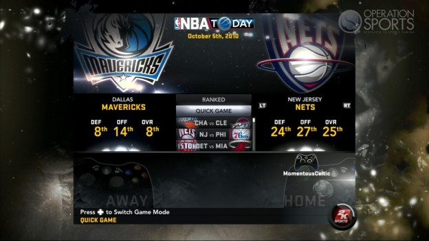 NBA 2K11 Screenshot #110 for Xbox 360