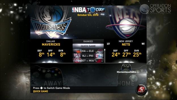 NBA 2K11 Screenshot #110 for Xbox 360