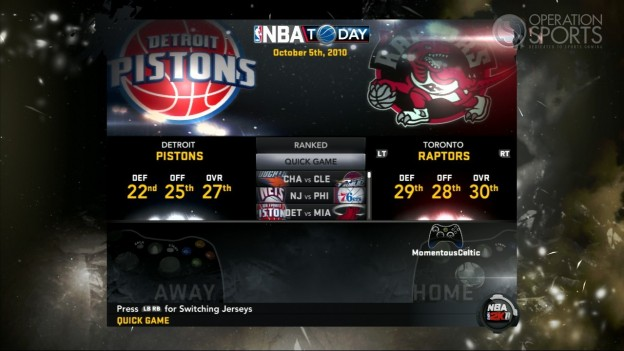 NBA 2K11 Screenshot #112 for Xbox 360