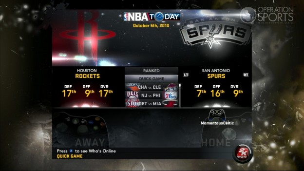 NBA 2K11 Screenshot #113 for Xbox 360