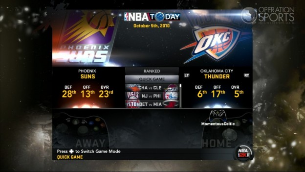NBA 2K11 Screenshot #114 for Xbox 360