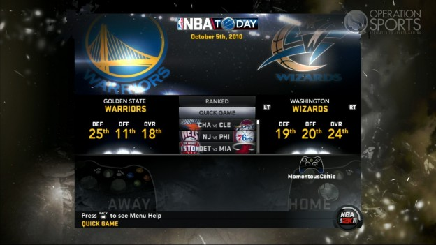 NBA 2K11 Screenshot #115 for Xbox 360
