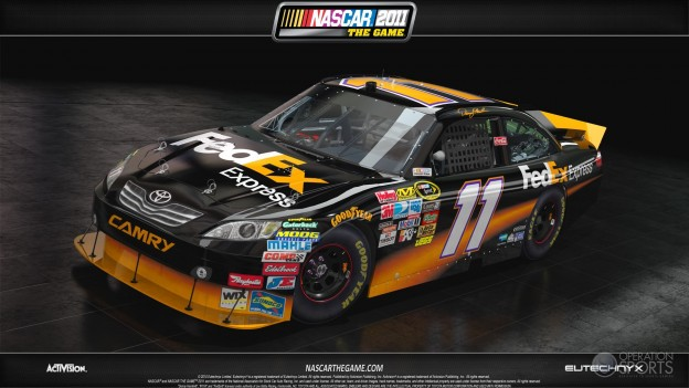 NASCAR The Game 2011 Screenshot #3 for Xbox 360