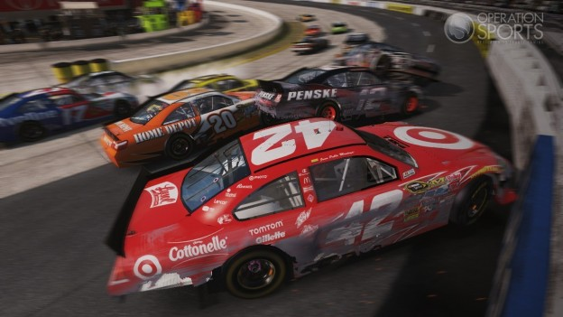 NASCAR The Game 2011 Screenshot #16 for Xbox 360