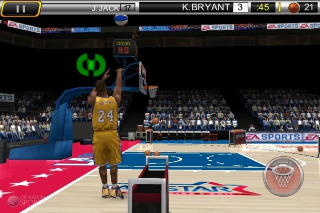 NBA Elite 11 Screenshot #1 for iPhone