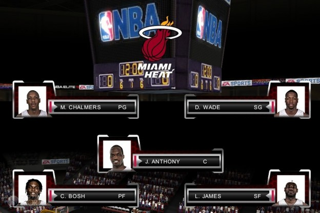 NBA Elite 11 Screenshot #2 for iPhone