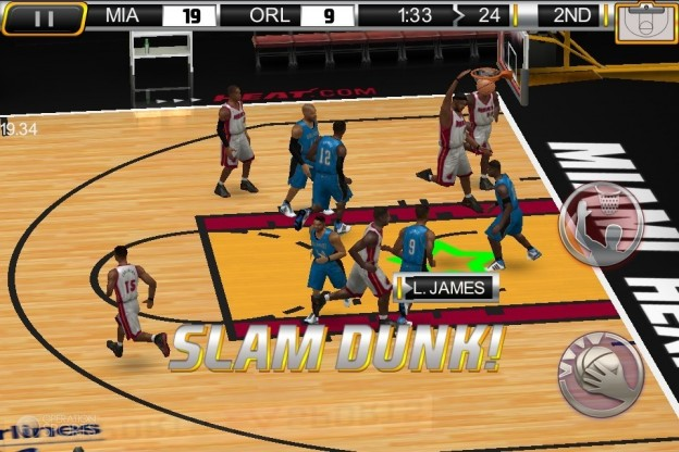 NBA Elite 11 Screenshot #4 for iPhone