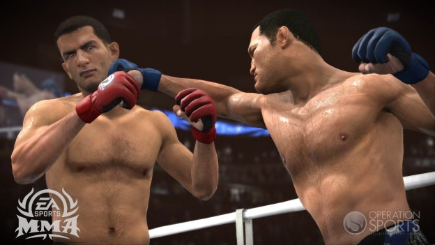 EA Sports MMA Screenshot #111 for Xbox 360