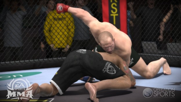 EA Sports MMA Screenshot #112 for Xbox 360