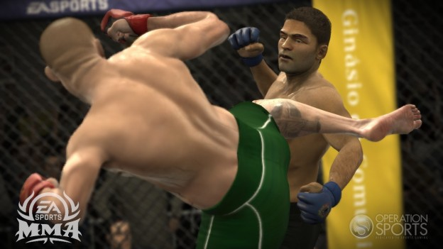 EA Sports MMA Screenshot #116 for Xbox 360