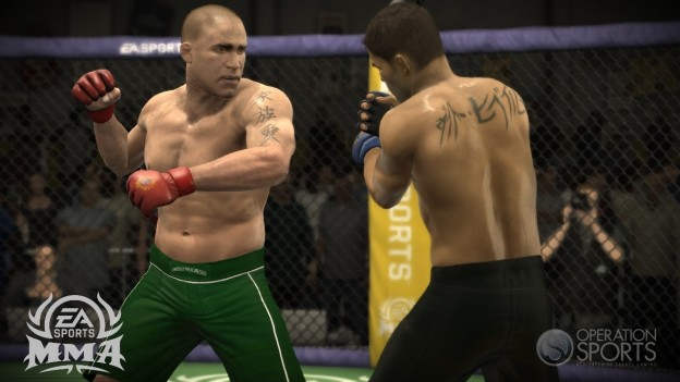 EA Sports MMA Screenshot #117 for Xbox 360