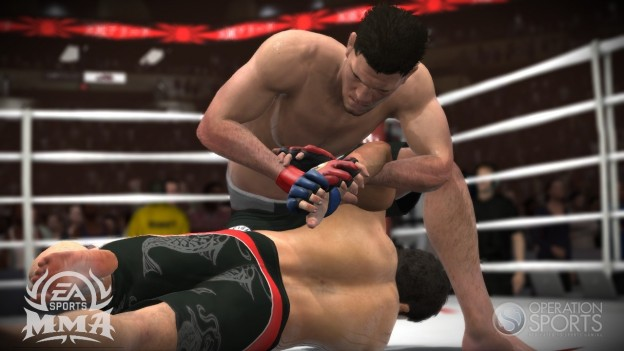 EA Sports MMA Screenshot #118 for Xbox 360