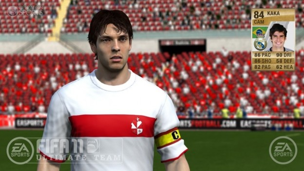 FIFA 11 Ultimate Team Screenshot #2 for PS3