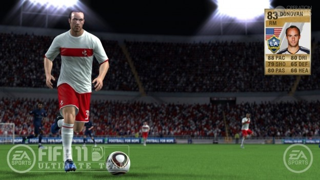 FIFA 11 Ultimate Team Screenshot #4 for Xbox 360