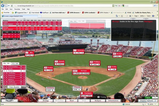 Dynasty League Baseball Online Screenshot #4 for PC