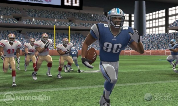 Madden NFL Football Screenshot #2 for 3DS