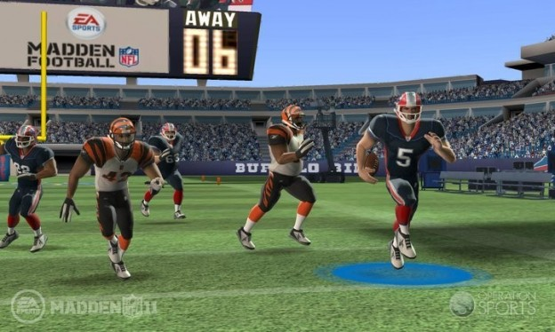 Madden NFL Football Screenshot #3 for 3DS