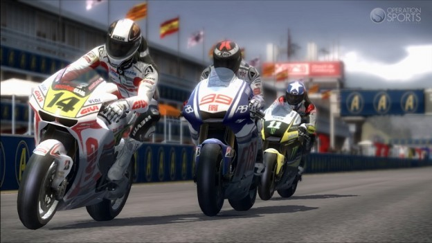 MotoGP 10/11 Screenshot #3 for Xbox 360