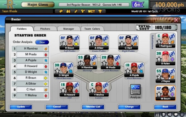 MLB Manager Online  Screenshot #3 for PC