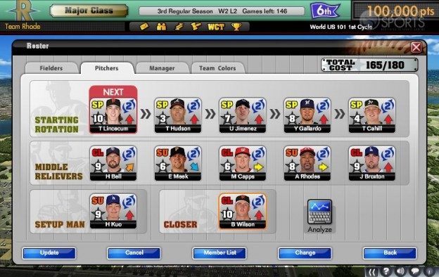 MLB Manager Online  Screenshot #4 for PC