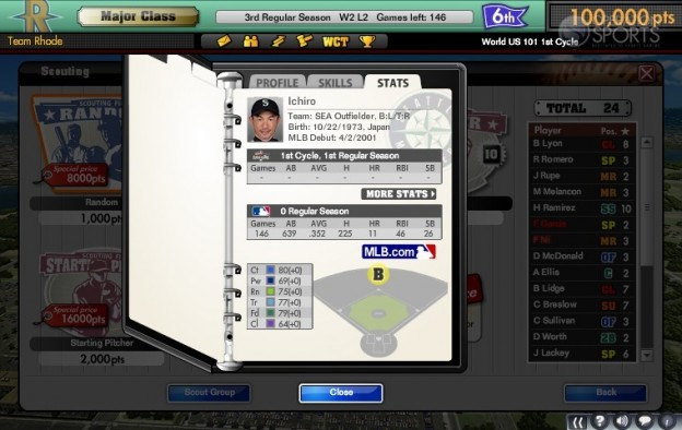 MLB Manager Online  Screenshot #5 for PC