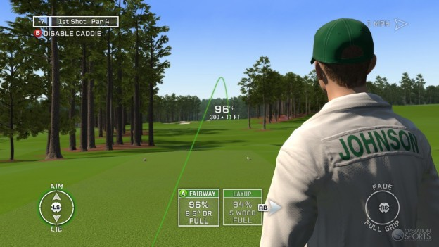 Tiger Woods PGA TOUR 12: The Masters Screenshot #13 for PS3