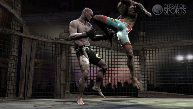 Supremacy MMA Screenshot #3 for Xbox 360